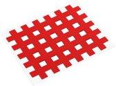 acupunctuurpleister raster 4,4 x 5,2 cm rood