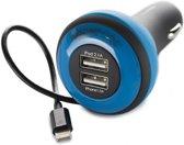 Boompods Car Chargers USB Carpod iPhone 5/5s/iPad/iPod, Blue