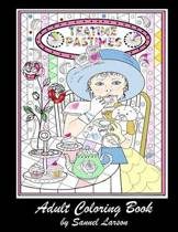 Teatime Pastimes - Adult Coloring Book