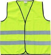 Veiligheidshesje - Reflecterend - Fluo geel - Maat Medium