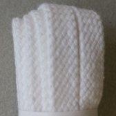 8mm x 180cm Witte Platte Bergal schoenveters - 1 paar veters