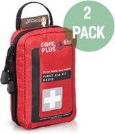 2x EHBO Kit voor op reis - Care Plus - Basic - Twopack