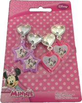 2 Paar Disney clip oorbellen Minnie Mouse