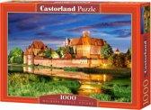 Malbork Castle, Poland puzzel 1000 stukjes