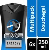 Axe Anarchy For Men Douchegel - 6 x 250 ml - Voordeelverpakking