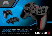 Gioteck VX-2 Bluetooth Wireless Controller - Zwart (PS3)