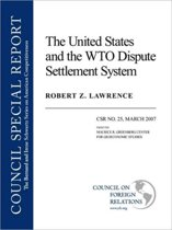 The United States and the WTO Dispute System