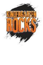 Kindergarten Rocks: 3 Month Planner for Teacher's - 90 Day Diary & Notebook Undated