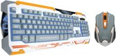 Combo Sencaic White/Orange Qwerty