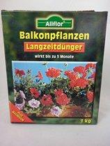 1 Kg Allflor Balkonplantenmest voor de lange termijn (5 mnd) | met Magnesium
