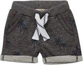 Minymo - jongens sweat korte broek - Grey Melange - Maat 98