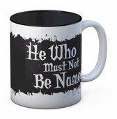 Harry Potter: He who must not be named - White and Black Mug