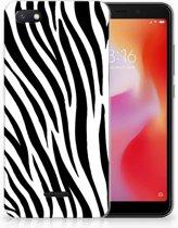 Xiaomi Redmi 6A TPU Hoesje Design Zebra