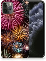 Silicone Back Cover iPhone 11 Pro Vuurwerk