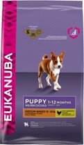 Eukanuba Dog Puppy - Medium Breed - Puppyvoer - 12 kg