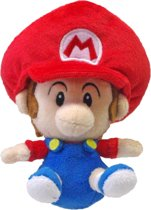 Super Mario Bros.: Baby Mario 13 cm Knuffel