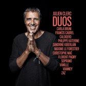 CD cover van Duos van Julien Clerc