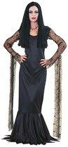 Halloween Morticia dames kostuum 36-38 (s)