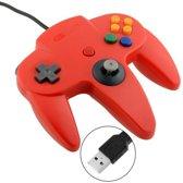 N64 | Nintendo 64 controller met USB aansluiting voor o.a. je Raspberry Pi| 1 stuk | REBL | Rood