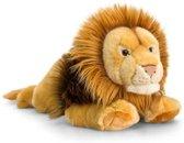 Keel Toys pluche leeuw knuffel 46 cm - knuffeldier