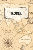 Yaound�: Liniertes Reisetagebuch Notizbuch oder Reise Notizheft liniert - Reisen Journal f�r M�nner und Frauen mit Linien