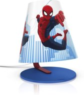 Philips Disney Spider-Man - Tafellamp - LED - Blauw