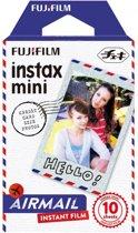 Fujifilm Instax Mini Colorfilm - Airmail - 10 stuks