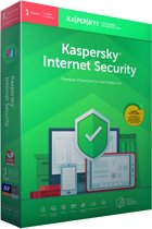 Kaspersky Internet Security 2019 - 1 Apparaat / 1