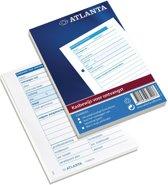 Atlanta Kasbewijs voor ontvangst A5406-033 A6, blok á 100vel