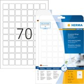 HERMA 8339 Wit Zelfklevend printerlabel printeretiket