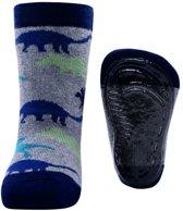Ewers antislip sokken Stoppi dino grijs
