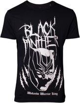 Black Panther - Metal Tee Inspired T-shirt - XL