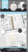 Me and My Big Idea's - Happy Planner Sticker Value Pack - Journaling - 1868 Pieces