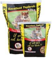 Excellent Topbrok Kat en Kitten - Kattenvoer - 5 kg
