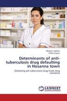 Determinants of Anti-Tuberculosis Drug Defaulting in Hosanna Town