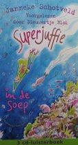 Superjuffie  in de soep - 3 cd luisterboek
