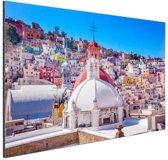 Guanajuato Mexico foto Aluminium 120x80 cm - Foto print op Aluminium (metaal wanddecoratie)