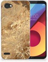 LG Q6   LG Q6 Plus TPU Hoesje Design Marmer