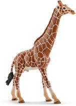 Schleich Giraffe mannetje 14749 - Speelfiguur - Wild Life - 12,7 x 4,4 x 17 cm