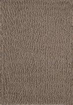 Vloerkleed Sense Donker Beige Hoogpolig Tapijt - 160x230cm