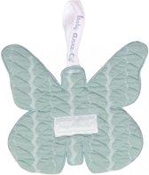 Baby Anne-Cy Porto Speendoekje Butterfly Cable Mint