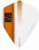Target Ultra Raymond van Barneveld Kite White Orange  Set à 3 stuks