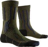 X-Socks Trek X CTN Outdoor  Sportsokken - Maat 39-41 - Unisex - donker groen/donker blauw/zwart