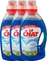 Le Chat Frisse Adem - Wasmiddel - 3 x 1.875 L (75 Wasbeurten) - Voordeelverpakking