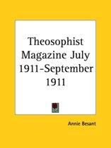 Theosophist Magazine (July 1911-September 1911)