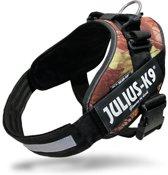 Julius K9 IDC Powertuig/Harnas - Maat 4/96-138cm - XXXL - Bruin