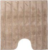 California - WC mat met antislip - Sand - 60 x 60 cm