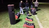Ring voor RAM Tackle bag - Tactiek training - Rood/zwart
