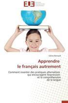 Apprendre Le Franaais Autrement