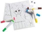Create & color princess